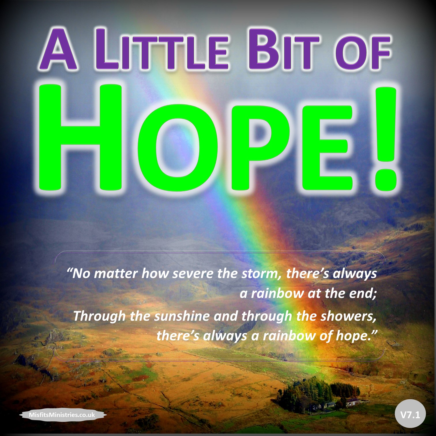 Read 'A Little Bit of Hope!'