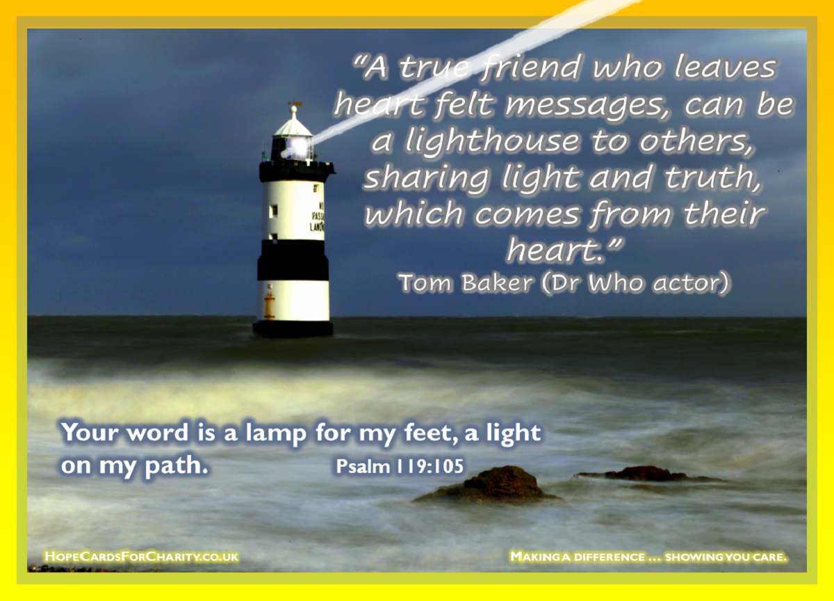 True friends are a lighthouse 1200
