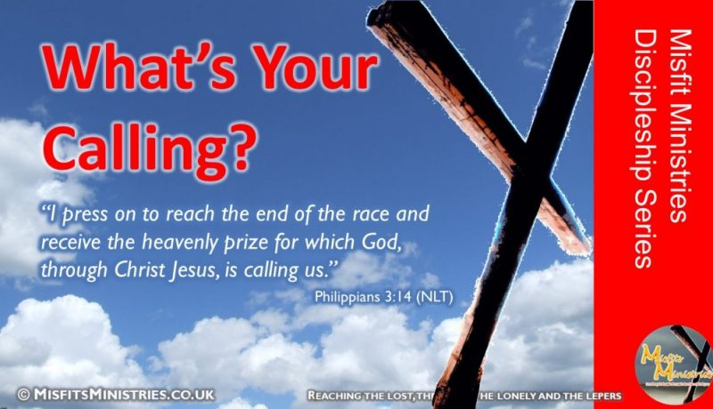 Discipleship Series 12 - What's Your Calling
