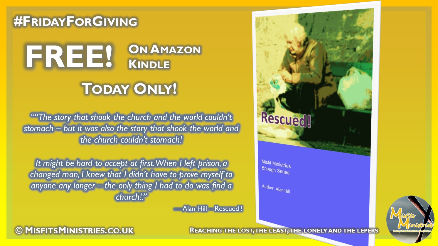 FridayForGiving - Rescued - Kindle version