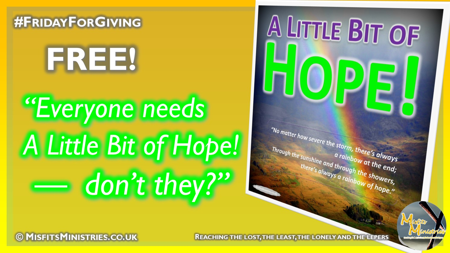 FridayForGiving - A Little Bit of Hope