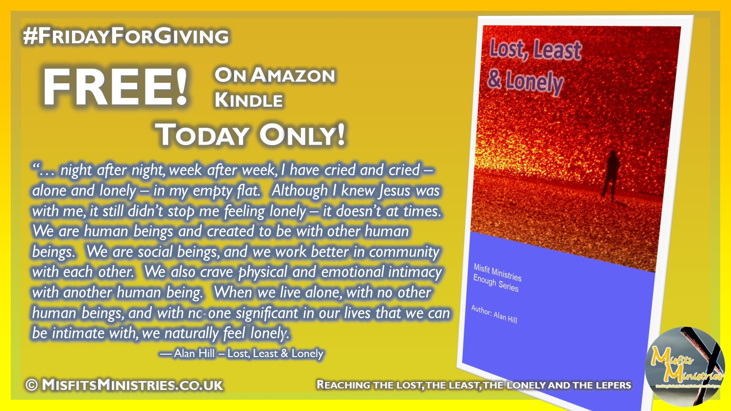 FridayForGiving - Lost, Least & Lonely - Kindle version
