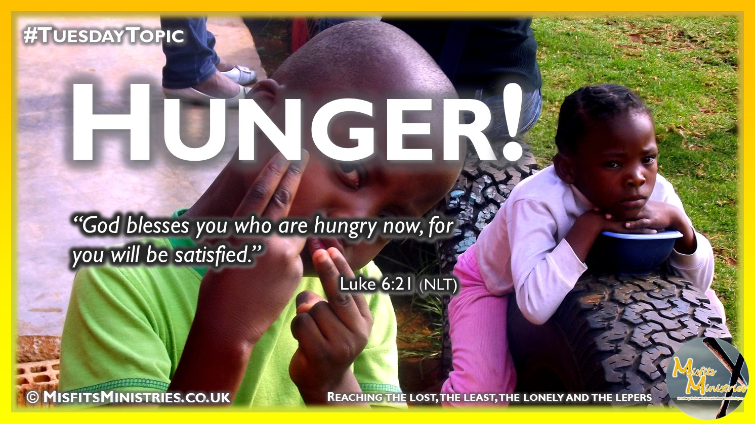 Tuesday Topic 2020-07-28 Hunger