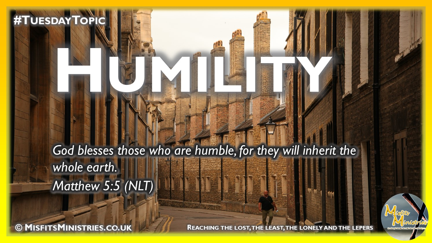 Tuesday Topic 2020-08-11 Humility