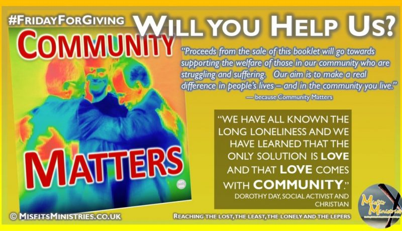 Friday For Giving - Community Matters 2020-03