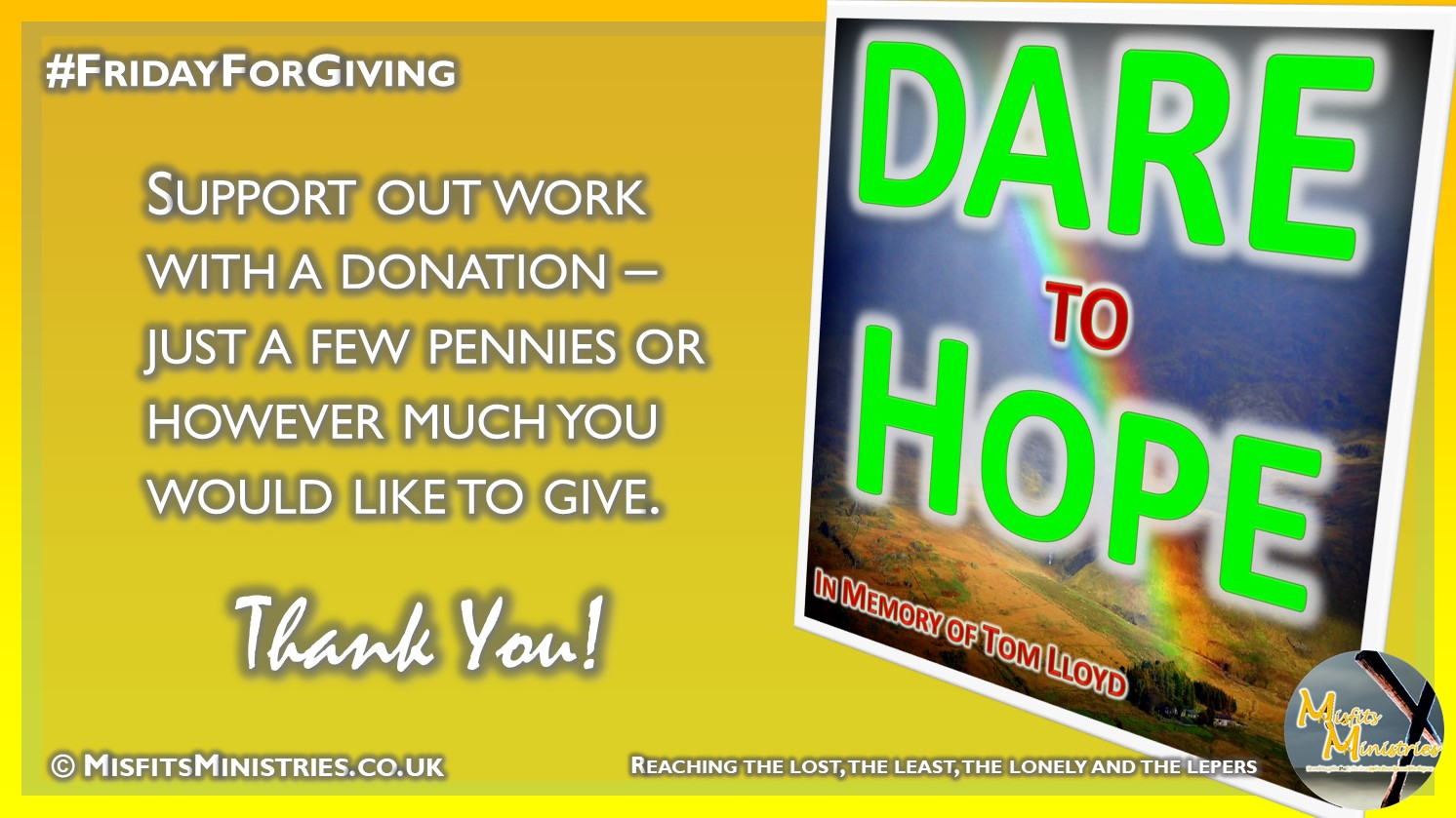 Friday For Giving - DARE to Hope
