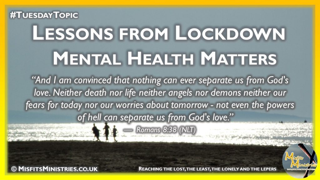 Tuesday Topic 2020wk37 - Mental Health Matters