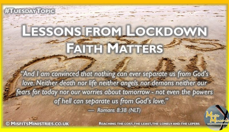 Tuesday Topic 2020wk38 - Faith Matters