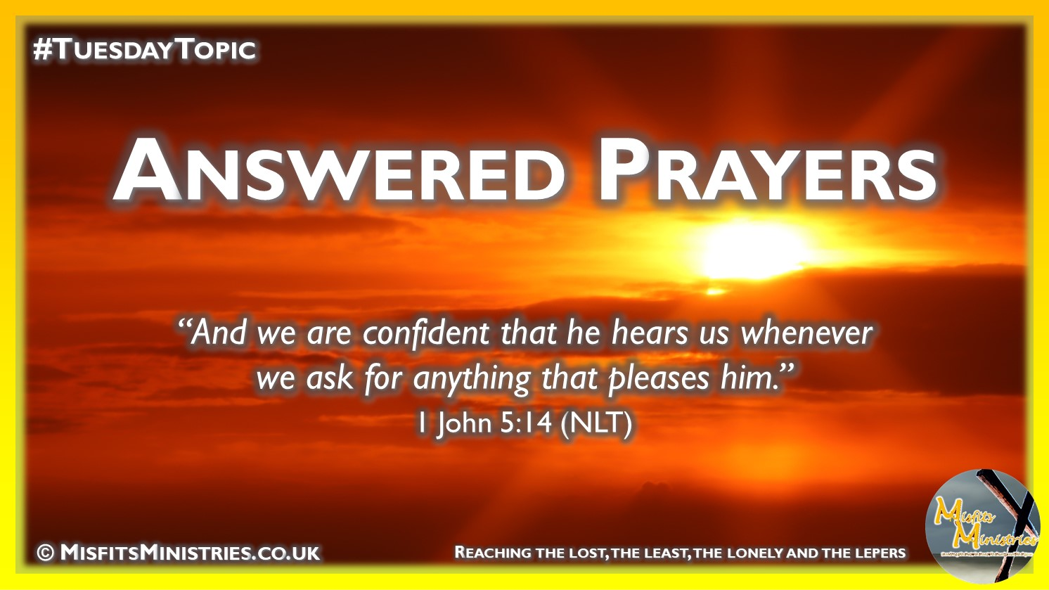 Tuesday Topic - Answered Prayers