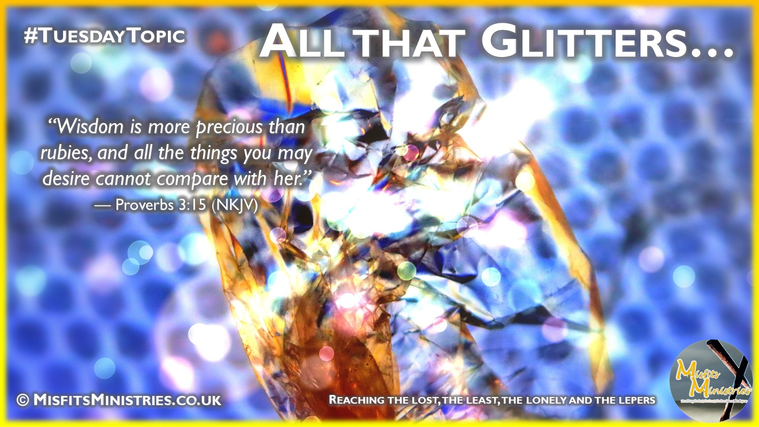 Tuesday Topic 2021wk08 - All that Glitters