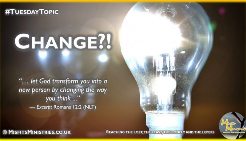 Tuesday Topic 2021wk10 - Change