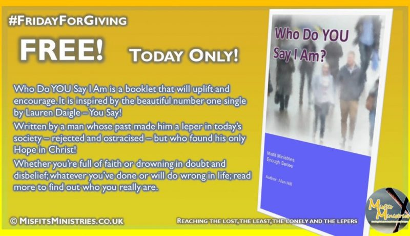 Friday For Giving - Who do YOU say I am - Kindle version