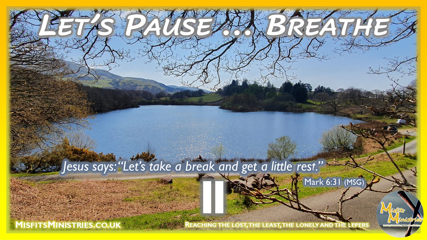 Misfits Ministries - Let's Pause - summer