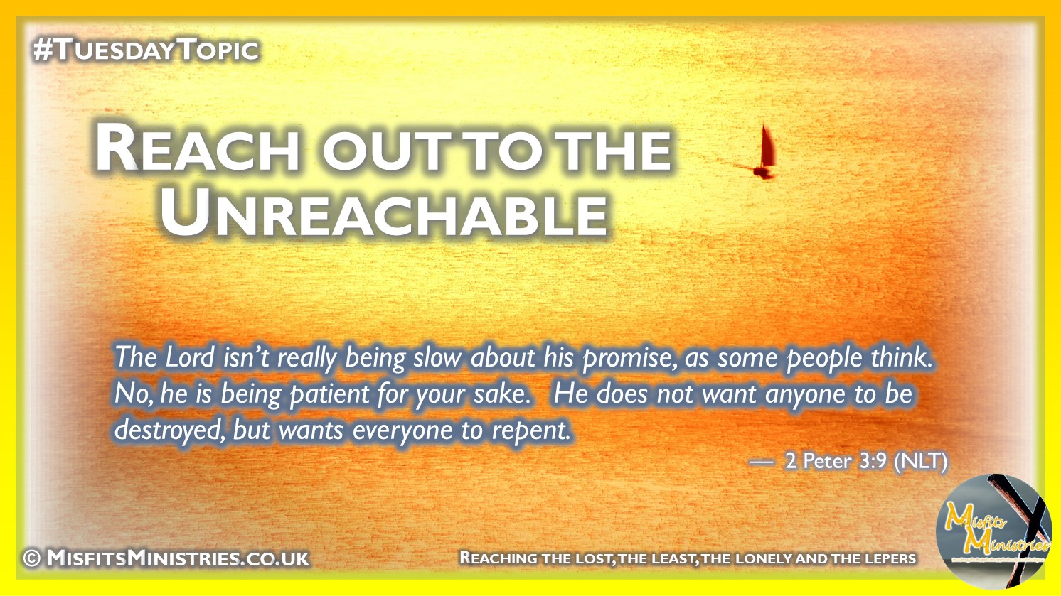 Tuesday Topic 2021wk23 - Reach out to the unreachable