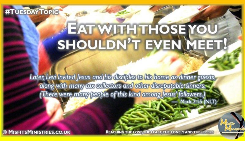 Tuesday Topic 2021wk25 - Eat with those you shouldn't even meet