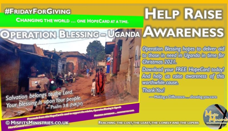 Friday For Giving - Operation Blessing HopeCard