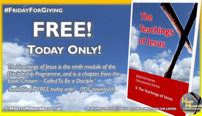 Friday For Giving - The Teachings of Jesus