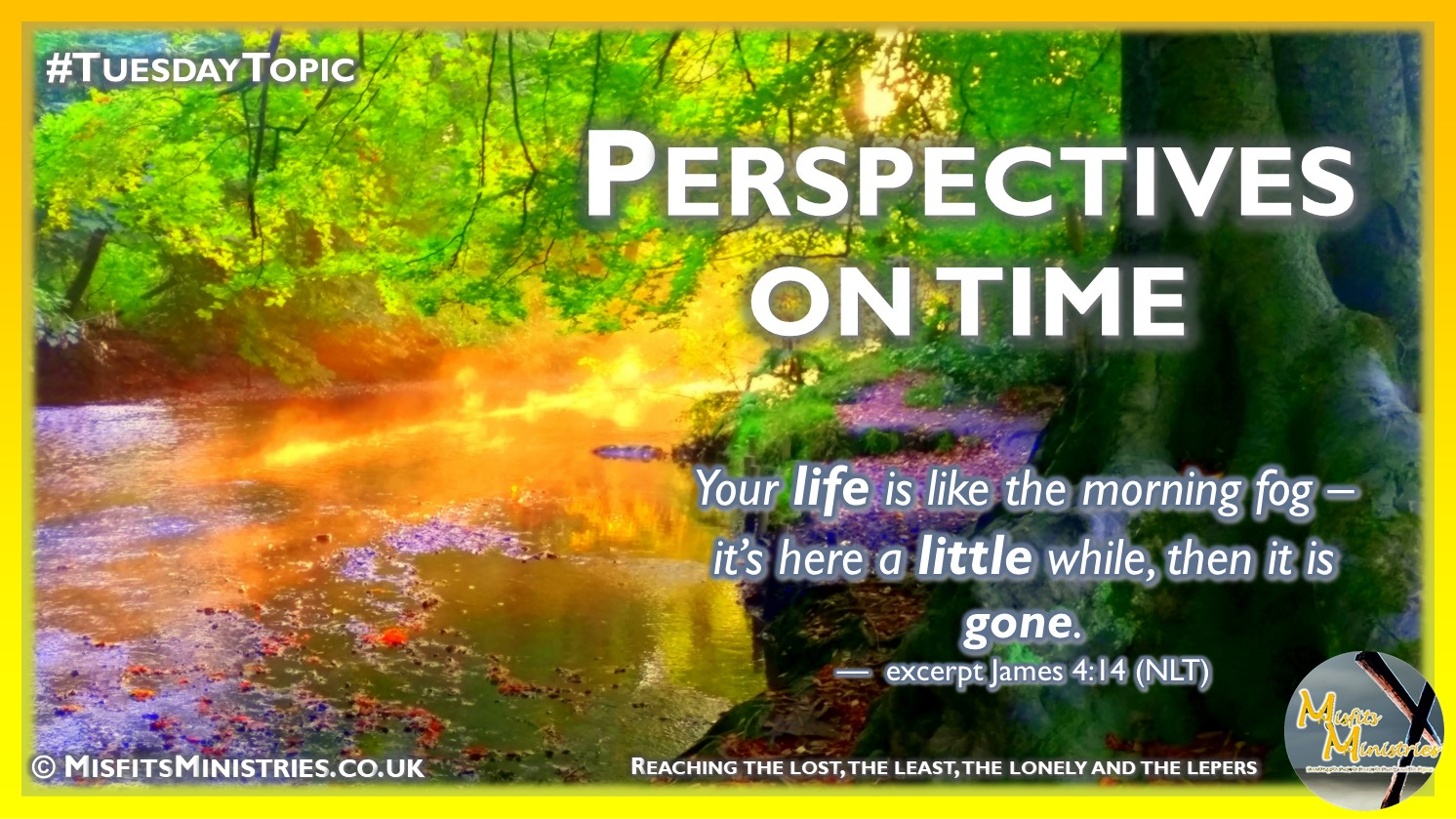 Tuesday Topic 2021wk37 - Perspectives on time