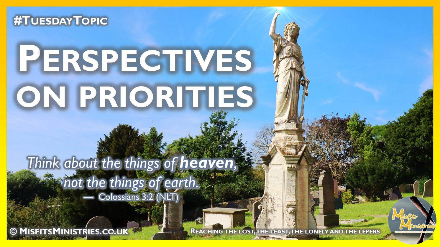 Tuesday Topic 2021wk38 - Perspectives on Priorities