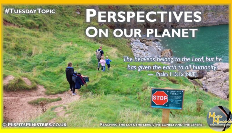 Tuesday Topic 2021wk39 - Perspectives on our planet